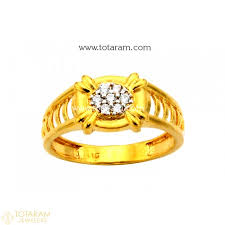 gold ring design for gold rings for men in 22k gold indian gold jewelry from totaram