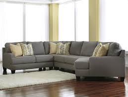 Laf Sofa Sectional Modern 4 Sectional Sofa With Right Cuddler Reversible Seat
