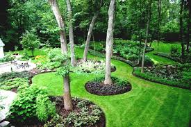 here are some creative designs cheap landscaping ideas for large