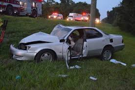 lexus leaving jacksonville flagler humane society truck collides with lexus at sr100 and