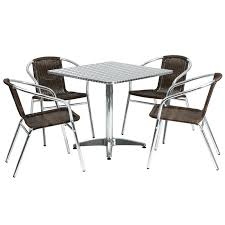 stainless steel table and chairs steel tables and chairs stainless steel canteen tables and chairs