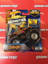 scooby doo 2 5 mj dog pound 2017 wheels monster jam case d