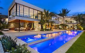 florida modern homes luis bosch designs and builds a new modern miami beach home