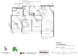 singapore floor plan botanique showflat location showflat hotline 61007122