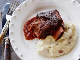 braised pork rib roast recipe food next recipes