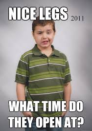 What Time Meme - image 121711 suave six year old know your meme