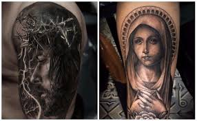 imagenes tatuajes de la virgen maria tatuajes de rosarios cristianos y de jesucristo para personas de fe
