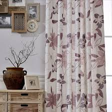 Oriental Shower Curtains Floral Oriental Custom Long Curtains For Windows