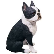 boston terrier figurines and statues