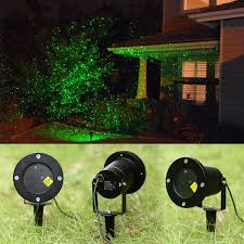 outdoor light sensor starry laser projector light lawn garden