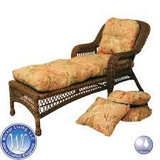 Outdoor Chaise Lounge For Two Living Room Stylish Miramar Ii Chaise Lounge Replacement Cushion