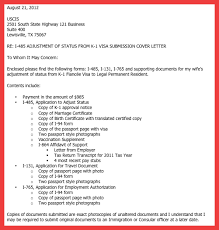 i 129f cover letter sample memo example