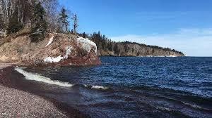 Michigan Lakes images High water levels causing damage on lakes superior michigan www jpg