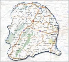 Winchester Virginia Map by About Us The Valley Trader