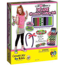 i love laces deluxe shoelace crafting by creativity for kids