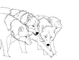 wolf pack coloring pages getcoloringpages com