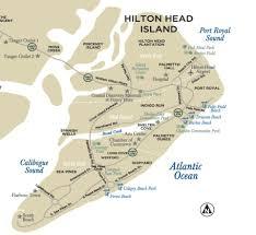 Map South Carolina Coast Maps Of Hilton Head Island South Carolina