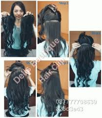 harga hair clip curly jual hair clip curly big layer delis beutique hair clip