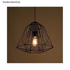 Ebay Ceiling Light Fixtures by Black Metal Pendant Light Modern Fixture Ceiling Hanging Kitchen