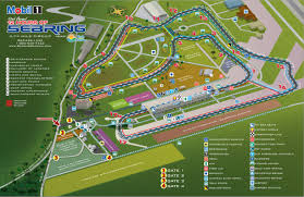 Circuit Of The Americas Track Map by High Performance Driving Schools Lessons Driving Experience