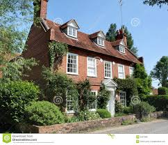 traditional english village house royalty free stock image image