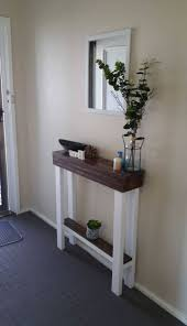 Narrow Entry Table Photo Gallery Of Thin Entryway Table Viewing 3 Of 15 Photos