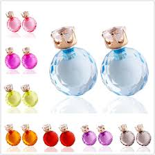 cheap stud earrings buy cheap stud for big save 2015 clear glass