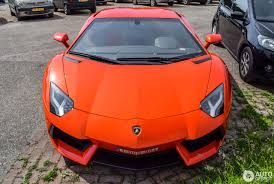 Lamborghini Aventador Orange - lamborghini aventador lp700 4 10 july 2017 autogespot