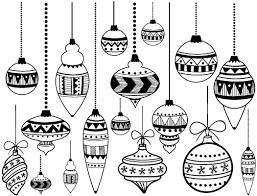 Classic Christmas Ornaments Ceramic Decals Glass Decals Or