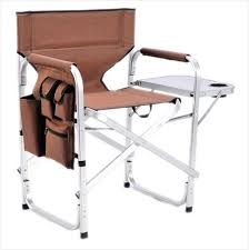 Folding Directors Chair With Side Table Directors Chair Folding Get Minimalist Impression Chad Peele
