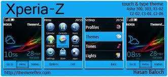 themes nokia c2 mobile xperia z live theme for nokia asha 300 303 x3 02 c2 02 c2 03 c2