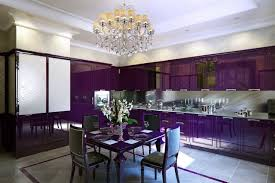 Fabulous Purple Dining Room Ideas - Purple dining room