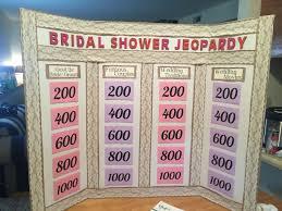 interactive bridal shower bridal shower jeopardy bridal showers bridal showers and