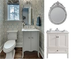 Powder Room Mirrors And Lights Bathroom Design Venetian Mirror White Bathroom Vanity Small