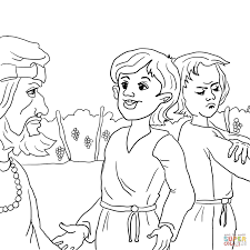 parable of the two sons coloring page free printable coloring pages