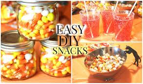 super easy diy halloween fall treats youtube