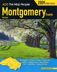 Md County Map Montgomery County Md Atlas Montgomery County Md Street Map Book