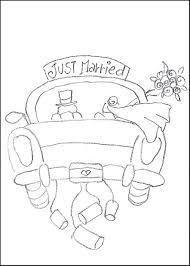 free printable wedding coloring pages glum print