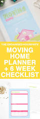 Home Planner by Moving Home Planner 6 Week Checklist The Organised Housewife