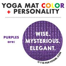 purple color meaning what color yoga mat is best for you personality meaning
