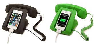 give your smart phone a retro desk telephone look
