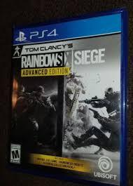 siege sony tom clancy s rainbow six siege advanced edition sony playstation 4