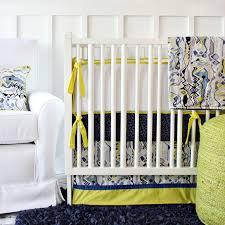 ikat citrus boy crib bedding set by caden lane rosenberryrooms com