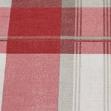 Pink Tartan Curtains Highland Tartan Lined Eyelet Curtains Pair With Plaid Check