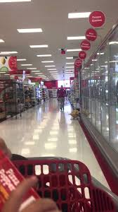 black friday time at target playing over the intercom at target in campbell california