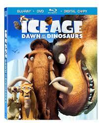 amazon ice age dawn dinosaurs blu ray dvd
