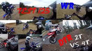 4t motocross gear test 125 crash wheeling 2t vs 4t youtube