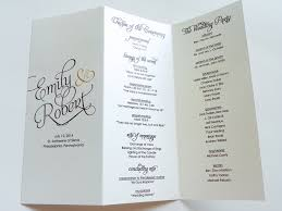 formal wedding program wording maura co wedding ceremony wedding ceremony programs