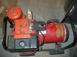 briggs and stratton 8hp 4250 watt gillette generator used oldie