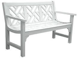 sunnydaze 2 person checkered cast aluminum garden bench black